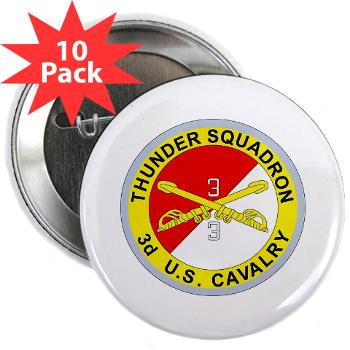 "3S3ACR - M01 - 01 - DUI - 3rd Sqdrn - 3rd ACR 2.25"" Button (10 pack)"