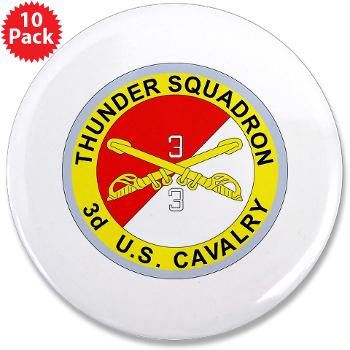"3S3ACR - M01 - 01 - DUI - 3rd Sqdrn - 3rd ACR 3.5"" Button (10 pack)"