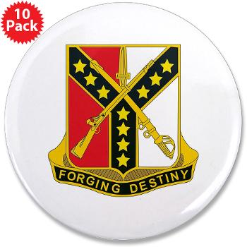 "3S61CR - M01 - 01 - DUI - 3rd Sqdrn - 61st Cavalry Regt - 3.5"" Button (10 pack)"