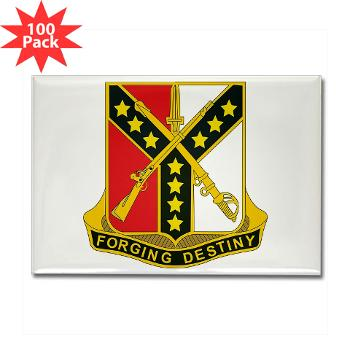 3S61CR - M01 - 01 - DUI - 3rd Sqdrn - 61st Cavalry Regt - Rectangle Magnet (100 pack)