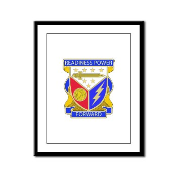 402BSB - M01 - 02 - DUI - 402nd Brigade - Support Battalion Framed Panel Print