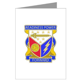 402BSB - M01 - 02 - DUI - 402nd Brigade - Support Battalion Greeting Cards (Pk of 10)
