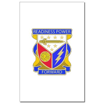 402BSB - M01 - 02 - DUI - 402nd Brigade - Support Battalion Mini Poster Print