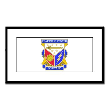 402BSB - M01 - 02 - DUI - 402nd Brigade - Support Battalion Small Framed Print