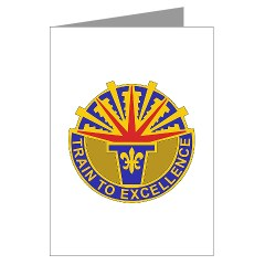 402FAB - M01 - 02 - DUI - 402nd Field Artillery Brigade - Greeting Cards (Pk of 10)