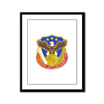 408SB - M01 - 02 - DUI - 408th Contracting Support Bde - Framed Panel Print