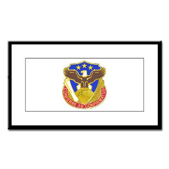 408SB - M01 - 02 - DUI - 408th Contracting Support Bde - Small Framed Print