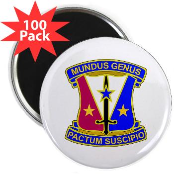 "412CSB - M01 - 01 - DUI - 412th Contracting Support Brigade - 2.25"" Magnet (100 pack)"