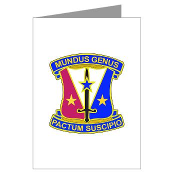 412CSB - M01 - 02 - DUI - 412th Contracting Support Brigade - Greeting Cards (Pk of 20)