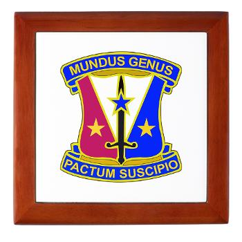 412CSB - M01 - 03 - DUI - 412th Contracting Support Brigade - Keepsake Box