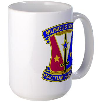 412CSB - M01 - 03 - DUI - 412th Contracting Support Brigade - Large Mug