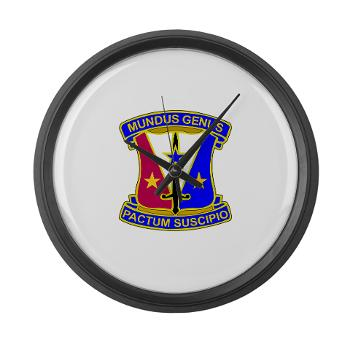 412CSB - M01 - 03 - DUI - 412th Contracting Support Brigade - Large Wall Clock
