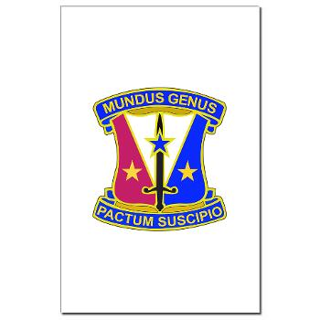 412CSB - M01 - 02 - DUI - 412th Contracting Support Brigade - Mini Poster Print