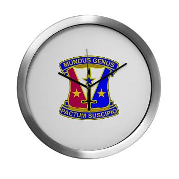 412CSB - M01 - 03 - DUI - 412th Contracting Support Brigade - Modern Wall Clock