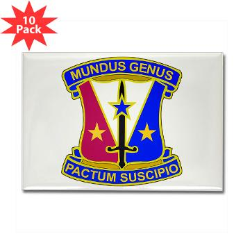 412CSB - M01 - 01 - DUI - 412th Contracting Support Brigade - Rectangle Magnet (10 pack)