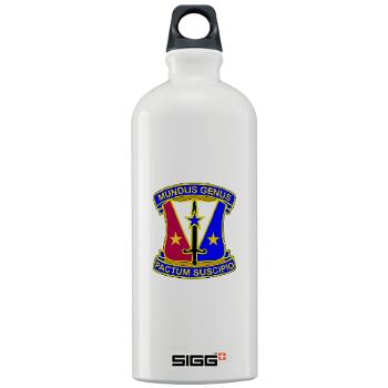 412CSB - M01 - 03 - DUI - 412th Contracting Support Brigade - Sigg Water Bottle 1.0L
