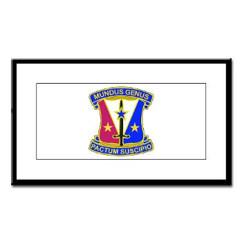 412CSB - M01 - 02 - DUI - 412th Contracting Support Brigade - Small Framed Print