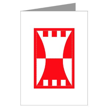 416TEC - M01 - 02 - SSI - 416th Theater Engineer Command Greeting Cards (Pk of 10)