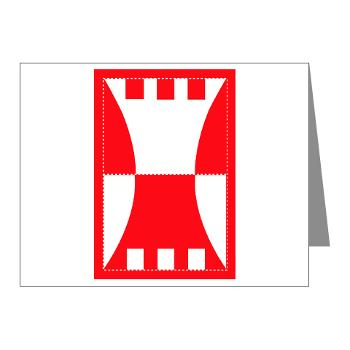 416TEC - M01 - 02 - SSI - 416th Theater Engineer Command Note Cards (Pk of 20)