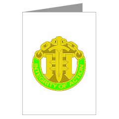 42MPB - M01 - 02 - DUI - 42nd Military Police Brigade - Greeting Cards (Pk of 20)