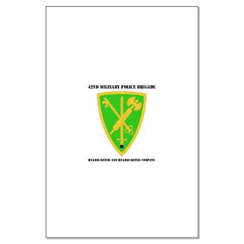 42MPBHHC - A01 - 02 - DUI - Headquarter and Headquarters Company with Text - Large Poster