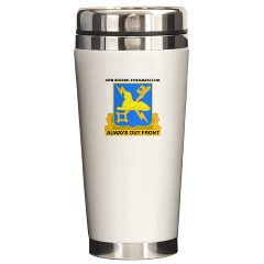 45MIC - M01 - 03 - DUI - 45th Military Intelligence Coy with text Ceramic Travel Mug
