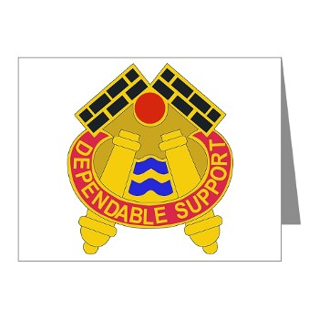479FAB - M01 - 02 - DUI - 479th Field Artillery Brigade - Note Cards (Pk of 20)