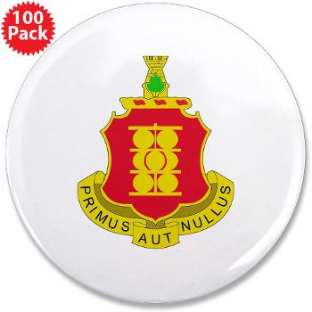 "4B1FAR - M01 - 01 - DUI - 4th Battalion - 1st Field Artillery Regiment - 3.5"" Button (100 pack)"