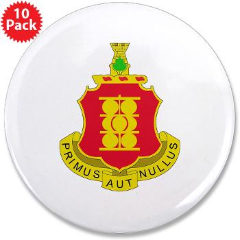 "4B1FAR - M01 - 01 - DUI - 4th Battalion - 1st Field Artillery Regiment - 3.5"" Button (10 pack)"