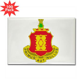 4B1FAR - M01 - 01 - DUI - 4th Battalion - 1st Field Artillery Regiment - Rectangle Magnet (100 pack)