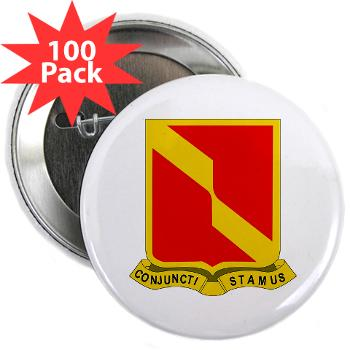 "4B27FAR - M01 - 01 - DUI - 4th Bn - 27th FA Regt - 2.25"" Button (100 pack)"