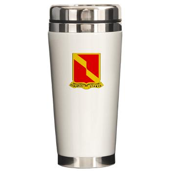 4B27FAR - M01 - 03 - DUI - 4th Bn - 27th FA Regt - Ceramic Travel Mug