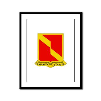 4B27FAR - M01 - 02 - DUI - 4th Bn - 27th FA Regt - Framed Panel Print