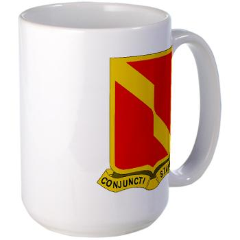 4B27FAR - M01 - 03 - DUI - 4th Bn - 27th FA Regt - Large Mug