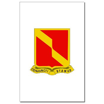4B27FAR - M01 - 02 - DUI - 4th Bn - 27th FA Regt - Mini Poster Print