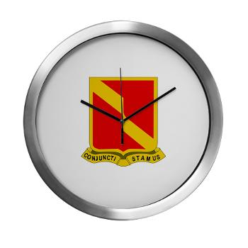4B27FAR - M01 - 03 - DUI - 4th Bn - 27th FA Regt - Modern Wall Clock