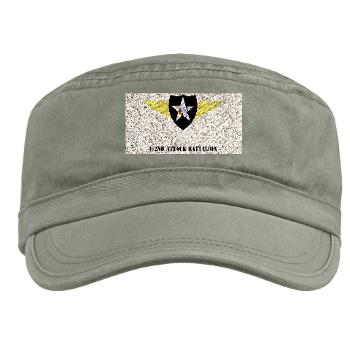 4B2AB - A01 - 01 - SSI - 4-2nd Attack Bn with Text Military Cap