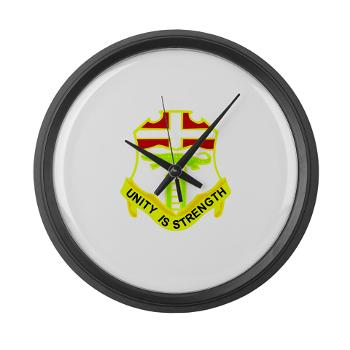 4B6IR - M01 - 03 - DUI - 4th Bn - 6th Infantry Regiment - Large Wall Clock