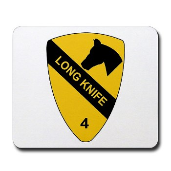 4BCT - M01 - 03 - DUI - 4th Heavy BCT - Long Knife - Mousepad