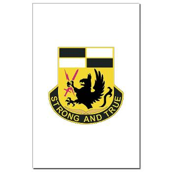 4BCTSTB - M01 - 02 - DUI - 4th BCT - Special Troops Battalion Mini Poster Print