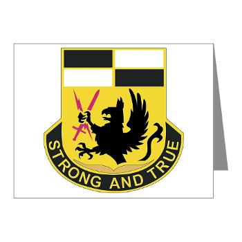 4BCTSTB - M01 - 02 - DUI - 4th BCT - Special Troops Battalion Note Cards (Pk of 20)