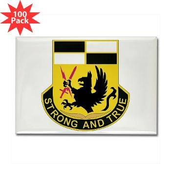 4BCTSTB - M01 - 01 - DUI - 4th BCT - Special Troops Battalion Rectangle Magnet (100 pack)