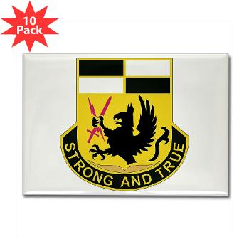 4BCTSTB - M01 - 01 - DUI - 4th BCT - Special Troops Battalion Rectangle Magnet (10 pack)