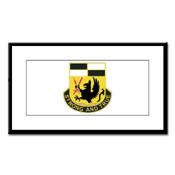 4BCTSTB - M01 - 02 - DUI - 4th BCT - Special Troops Battalion Small Framed Print