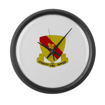 4BSB - M01 - 03 - DUI - 4th Bde - Support Battalion Large Wall Clock