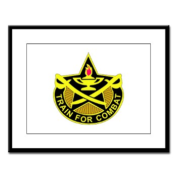 4CAV - M01 - 02 - DUI - 4th Cavalry Brigade Rectangle Large Framed Print