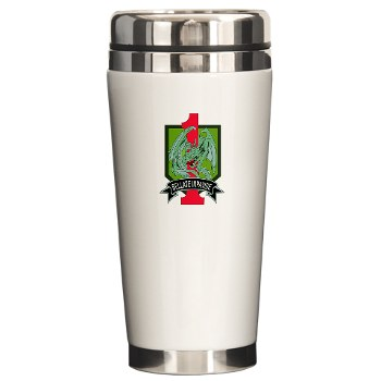 4HBCTDB - M01 - 03 - DUI - 4th HBCT - Dragon Brigade Ceramic Travel Mug
