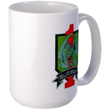4HBCTDB - M01 - 03 - DUI - 4th HBCT - Dragon Brigade Large Mug