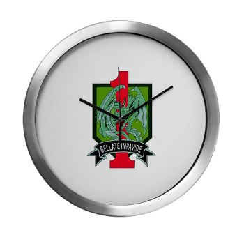 4HBCTDB - M01 - 03 - DUI - 4th HBCT - Dragon Brigade Modern Wall Clock