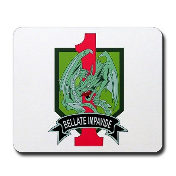 4HBCTDB - M01 - 03 - DUI - 4th HBCT - Dragon Brigade Mousepad